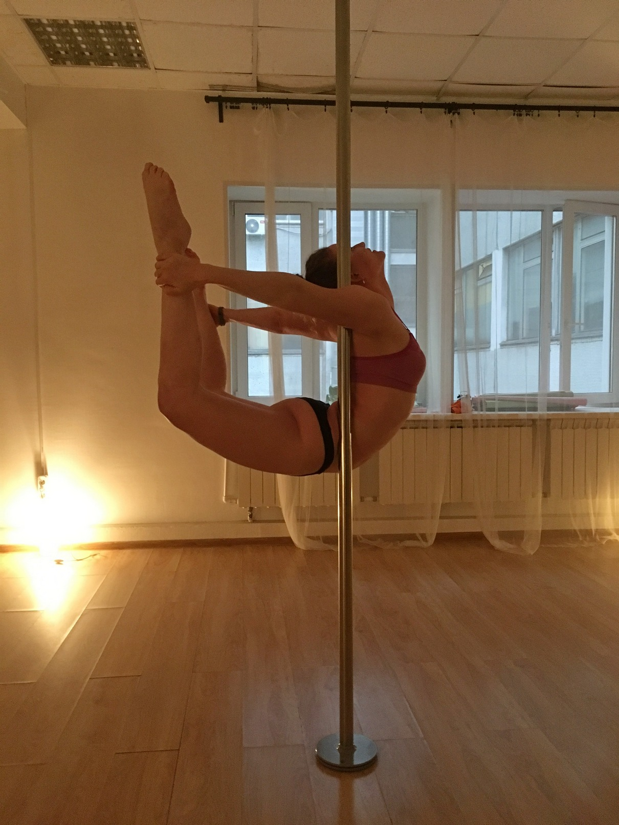 Sasha pole dance